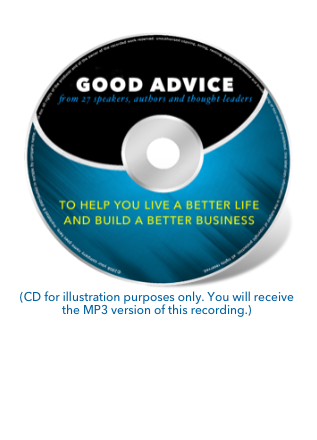 Good Advice Audiobook CD Image